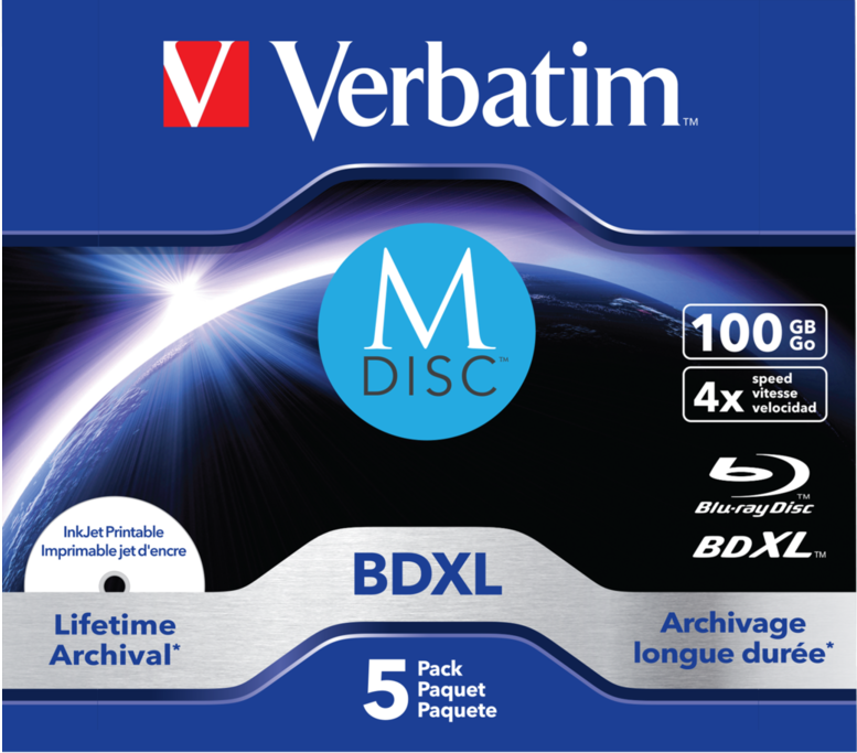 M-DISC 100 GB Blu-ray Disc